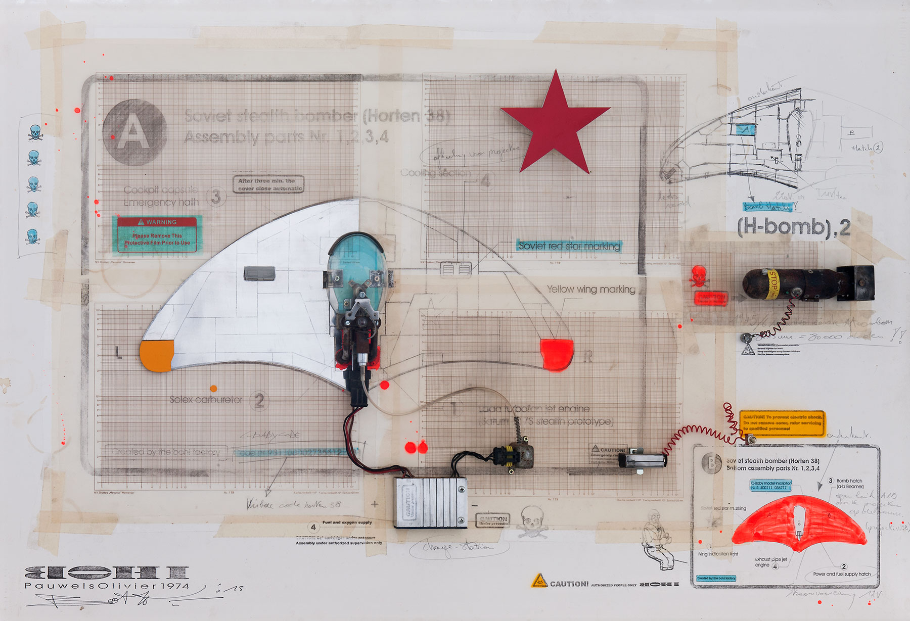 Olivier Pauwels Mad Max Engine Diagram Drawings